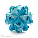 Astounding Little Roses Kusudama By Maria Sinayskaya Diagram Go Origami Wiring Digital Resources Anistprontobusorg