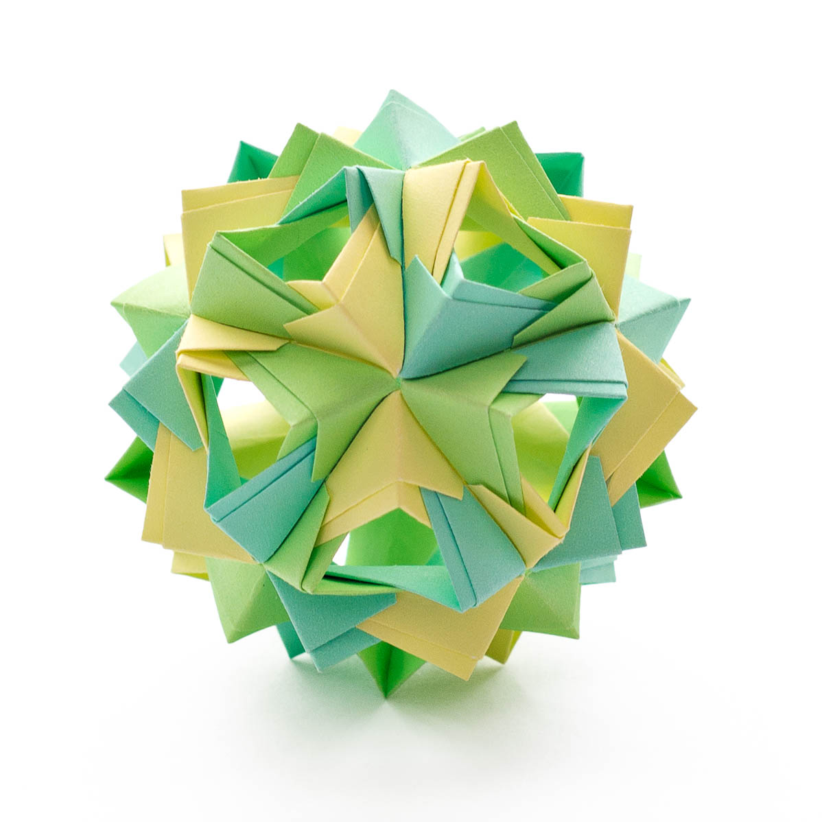 Little island kusudama by maria sinayskaya diagram go origami jeuxipadfo Gallery