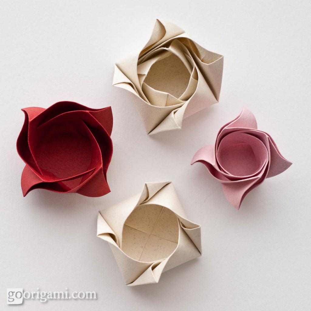 Цветы из бумаги своими руками. Мастер класс 91