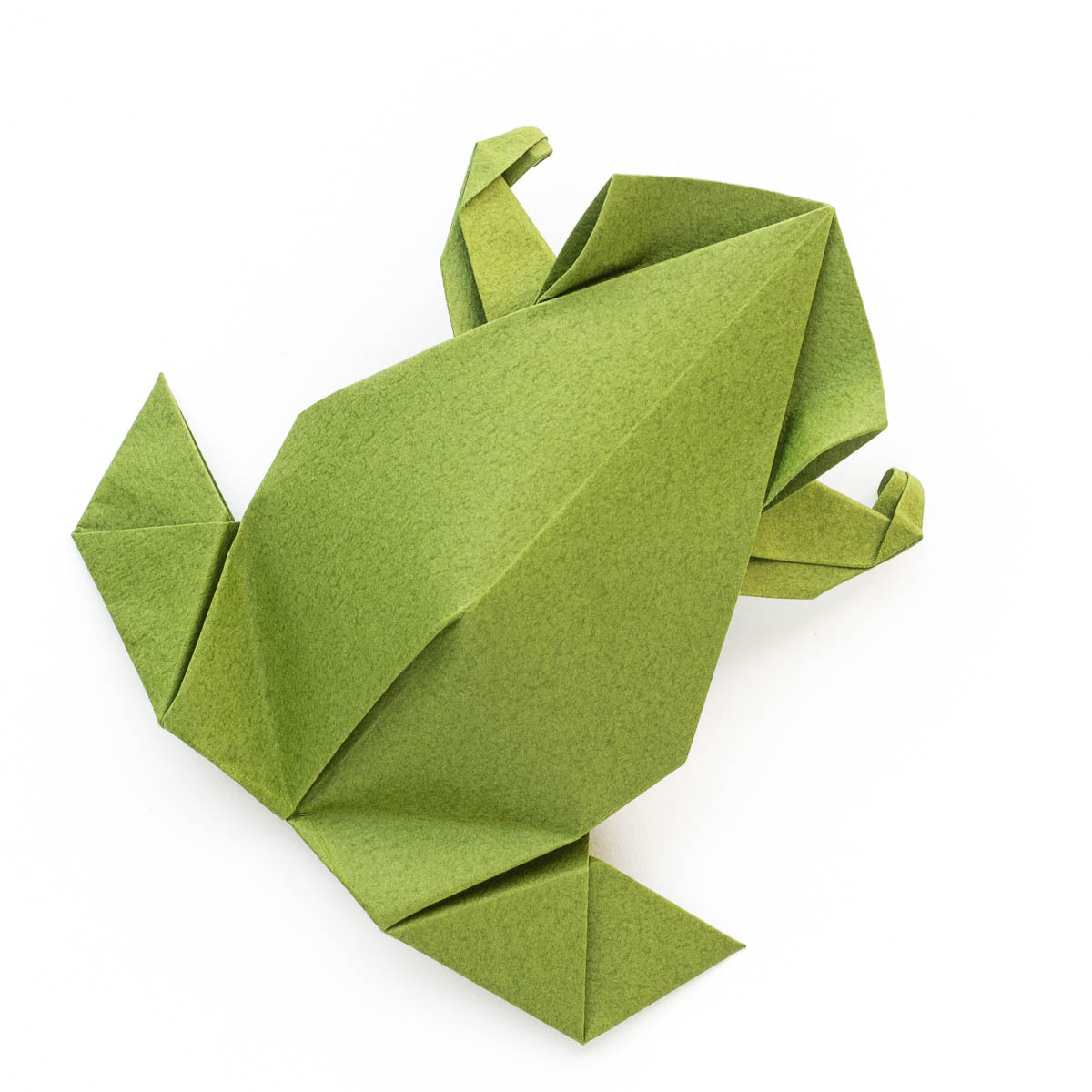 Pre columbian style origami frog by leyla torres go origami jeuxipadfo Images