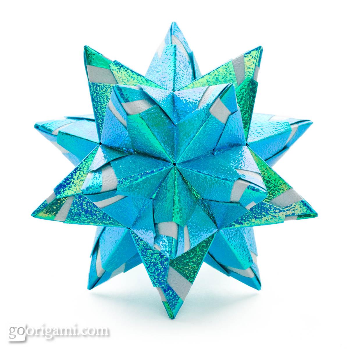 Chandelle Kusudama By Maria Sinayskaya Diagram Go Origami