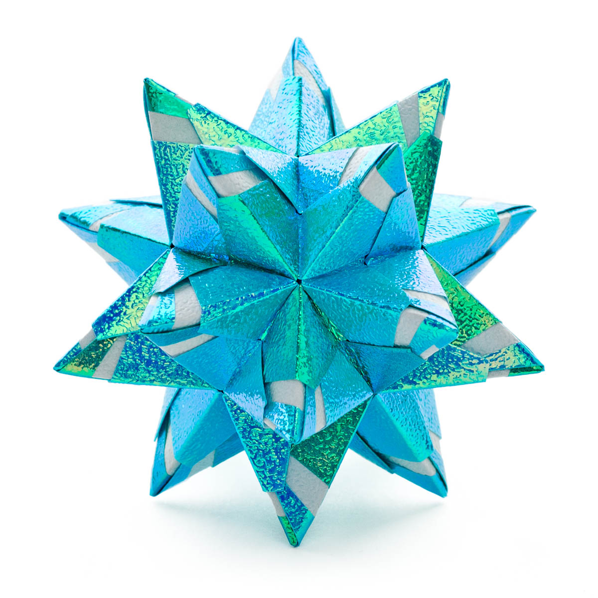 Chandelle Kusudama by Maria Sinayskaya — Diagram | Go Origami - photo#40