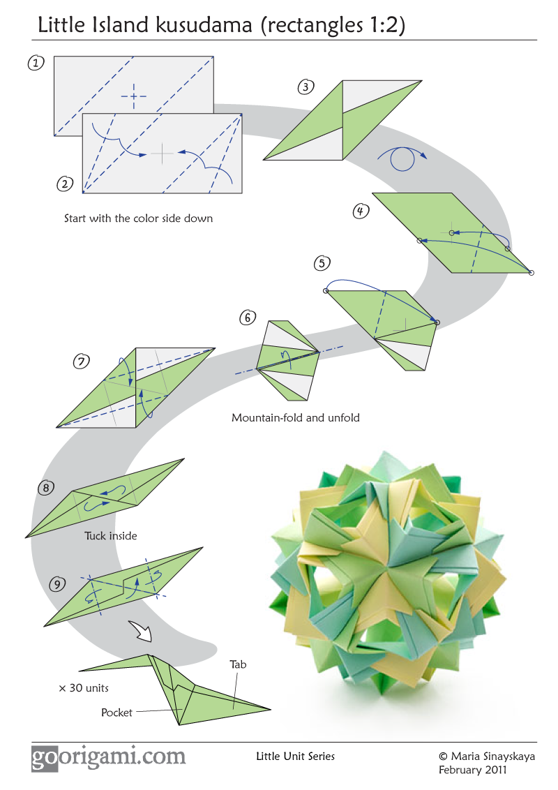 Origami Diagram Instructions Free Wiring For You Rose Unit Diagrams Engine Image User Easy Dragon Flower Ball