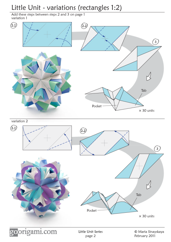 Little Roses Kusudama By Maria Sinayskaya Diagram Go Origami