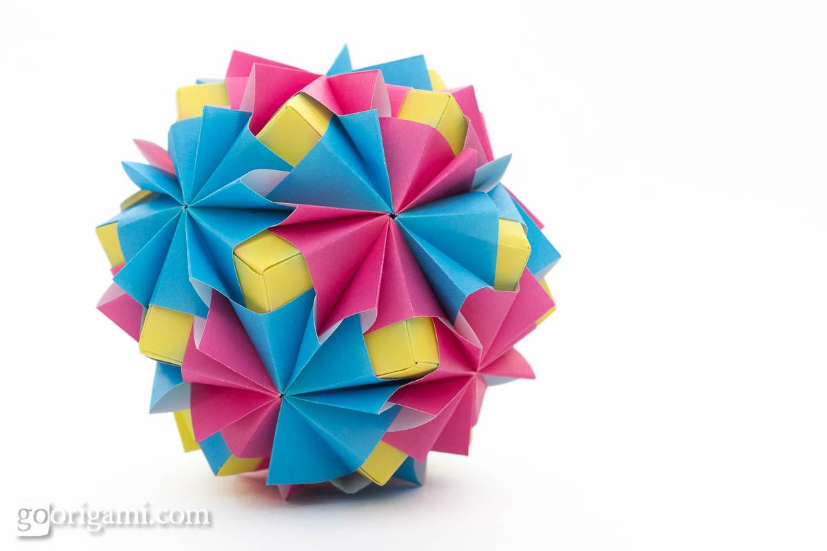 Waltz Sonobe by Maria Sinayskaya — Diagram | Go Origami - photo#27