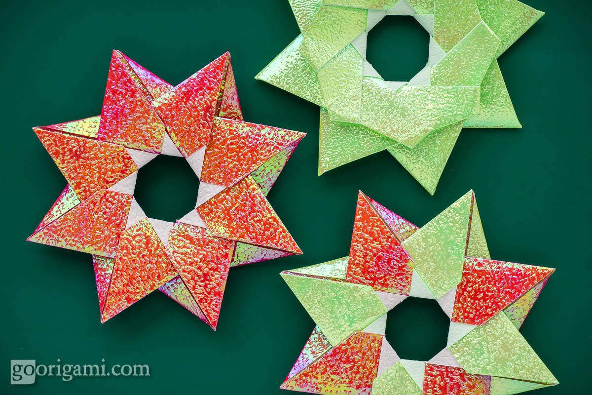 Christmas origami instructions hex star maria sinayskaya youtube - Robin Star By Maria Sinayskaya Diagram Go Origami Robin Star Salsuba Images