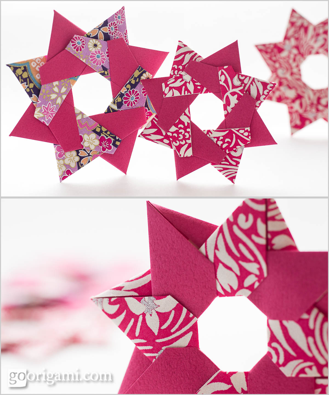 robin star by maria sinayskaya � diagram go origami