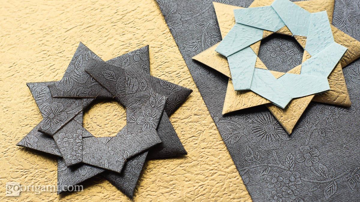 Robin Star By Maria Sinayskaya Diagram Go Origami