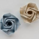 Origami Rose by Evi Binzinger