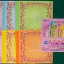 Origami Paper, Flowery Pattern, Jong Ie Nara
