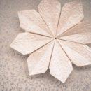 Origami Flower: Flor de Maria